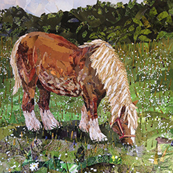 Kirstie Adamson HIllside Horse