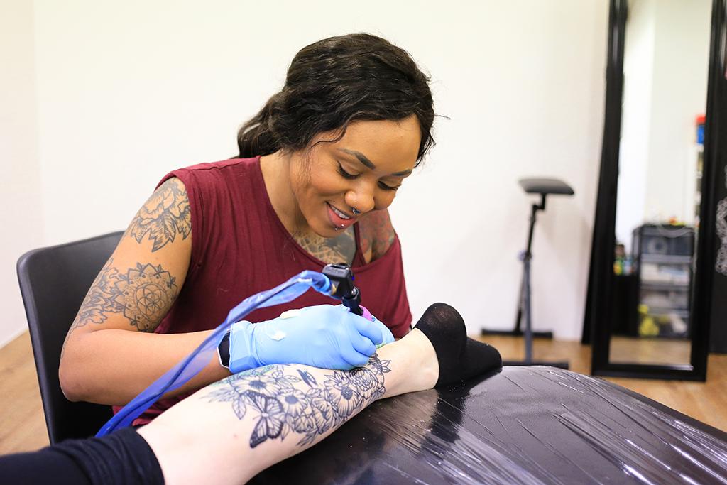 Jodie Bambi Tattoo Artist
