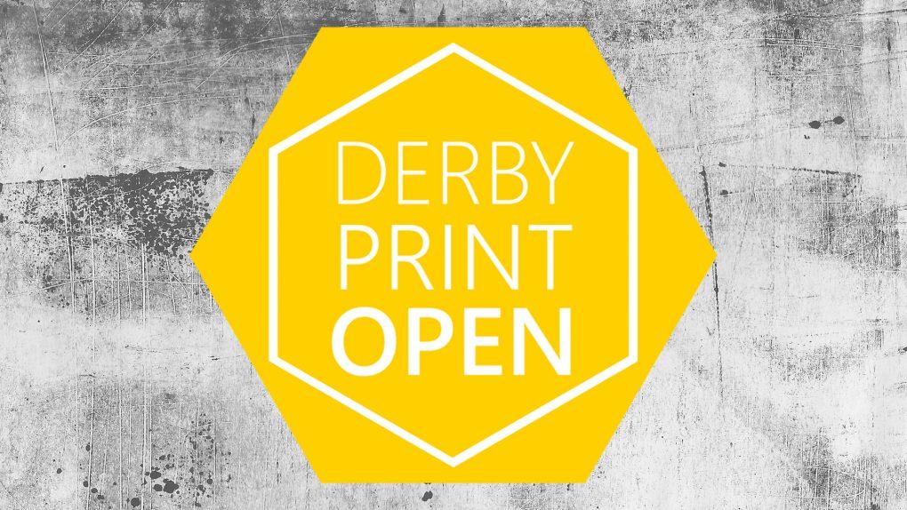 Derby Print Open Logo