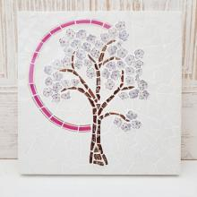 China Petals Blossom Tree mosaic
