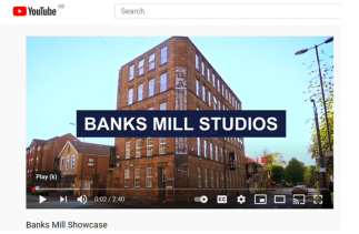 Image showing the outside of the Banks Mill building