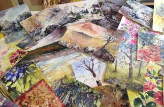 Pictures Mary Smith has produced as part of the challenge